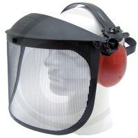 Ochranný obličejový štít ke křovinořezu Granit a sluchátka