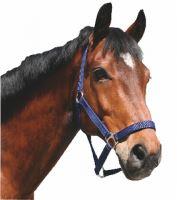 Ohlávka pro koně nylonová s bandáží