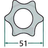 Profilová trubka ke kardanu G7 3 m