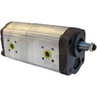 Dvojité hydraulické čerpadlo vhodné pro Deutz-Fahr DX, AgroStar, AgroPrima, AgroXtra