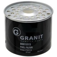 Granit 8001015 palivový filtr vhodný pro BCS, Case IH, Claas, Deutz-Fahr, Fendt, Fiat