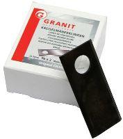Nože rotační 25 ks pravé pro Deutz-Fahr, Kverneland bubnové sekačky 96 x 40 x 3 mm
