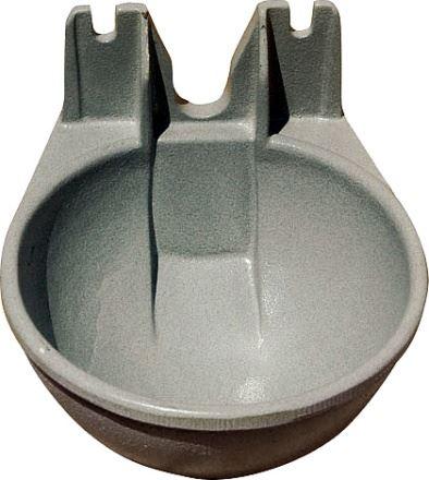 Mísa napájecí Standard litinová pro napájecí ventily FP/FAL pro koně a dobytek