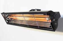 Infrazářič nástěnný SYNER LBL 1000 W černý na 6 m3 do koupelny, venkovní na terasu