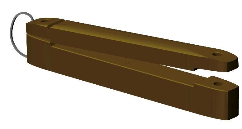 Izolátory pro extra širokou pásku OLLI 100 mm balení 25 ks