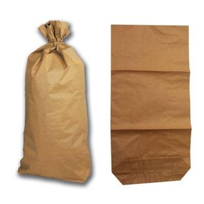 Papírové pytle dvouvrstvé na obilí, šrot, granule, odpad 69,5 x 80 cm balení 10 ks