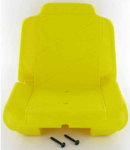 Rolly Toys - traktorová sedačka řepkově žlutá na dětský šlapací traktor