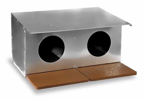 Hnízdo pro holuby zinkované dvojmístné