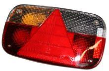 Zadní levé světlo Aspöck Multipoint 3 koncové, brzdové, směrové + osvětlení SPZ