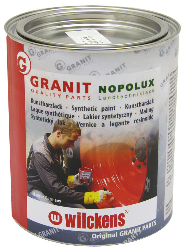 Lak na zemědělské stroje Nopolux 750 ml odstín Bruns červený