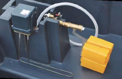Topná spirála pro míčové a miskové napáječky La GÉE Polytherme 300W / 24V s termostatem