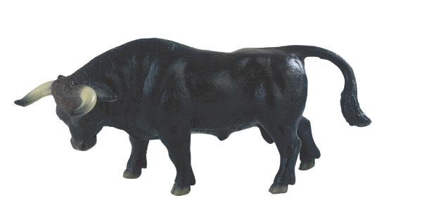 Bullyland - figurka černý býk Manolo