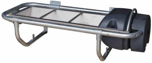 Nerezový napájecí výklopný žlab La GÉE Polynox 155 nástěnný vyhřívaný 80W/24V