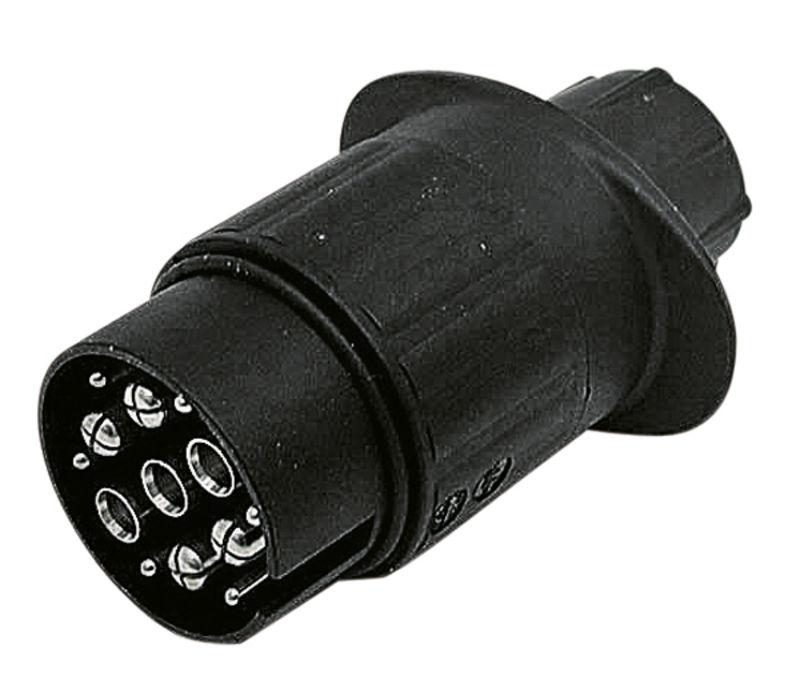 Konektor stejnosměrný 13/ 7-pólový 12V z umělé hmoty