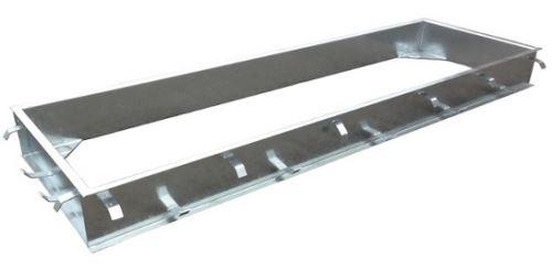 Montážní rám pro přejezdové váhy C-profil zinkovaný 3,2 x 1 m