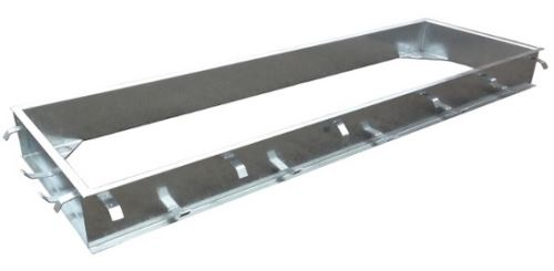 Montážní rám pro přejezdové váhy C-profil zinkovaný 3,4 x 1 m
