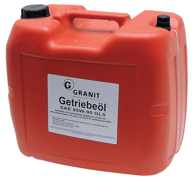 Olej do hypoidních převodovek EP85W-90 GL-5 SAE 85W-90 60 l