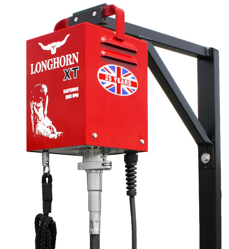 LONGHORN XT 240V kompletní sestava profi stříhacího strojku na ovce pevný náhon