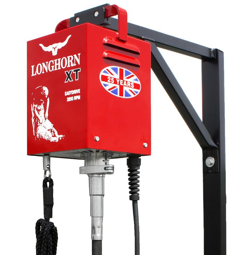 LONGHORN XT 240V sestava profi stříhacího strojku na ovce flexi náhon bez stříhací hlavice