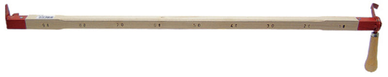 Měřící tyč Dauner s pohyblivým odtrhovačem