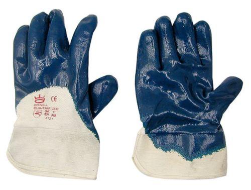 Nitrilové rukavice Blaustar velikost