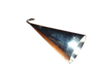 Zvonek řeznický nerezový na čištění prasete od štětin