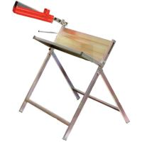 Koza na řezání dřeva kovová s držákem na pilu