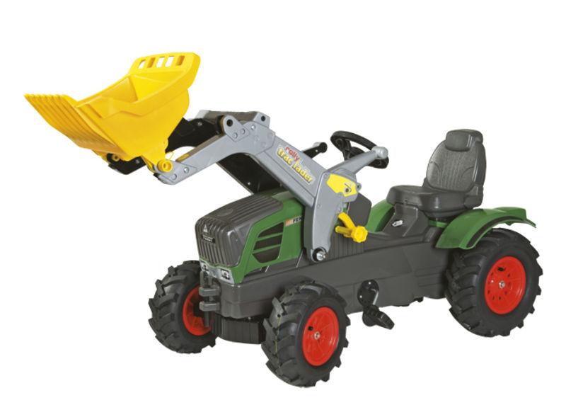 Rolly Toys - šlapací traktor s čelním nakladačem Fendt 211 Vario vzduchové pneumatiky