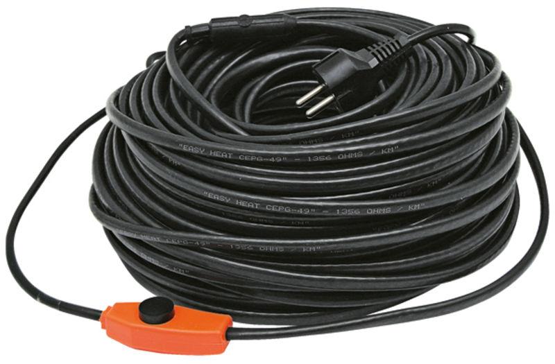 Topný kabel na potrubí 230 V 49 m