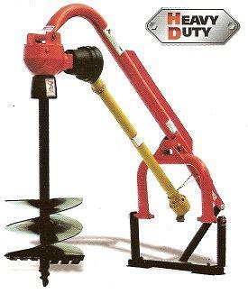 Půdní vrták za traktor ROTOMEC 200-512 pro traktory kat. 1