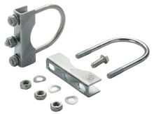 Sada 2 svěracích spon s mechanickým upínáním pro opěrná kola a nohy Simol kulaté 70 mm