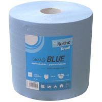 Papírový ručník BLUE 920 útržků 2-vrstvý modrý šířka 26 cm balení 2 ks