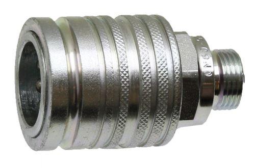 Hydraulická rychlospojka samice KM 12L 3 M18 x 1,5