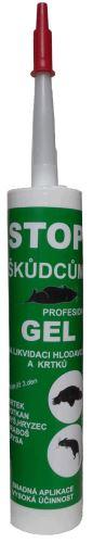 STOP GEL PROFESIONAL na likvidaci krtků, hryzců, hrabošů, myší, krys a potkanů kartuš 300g