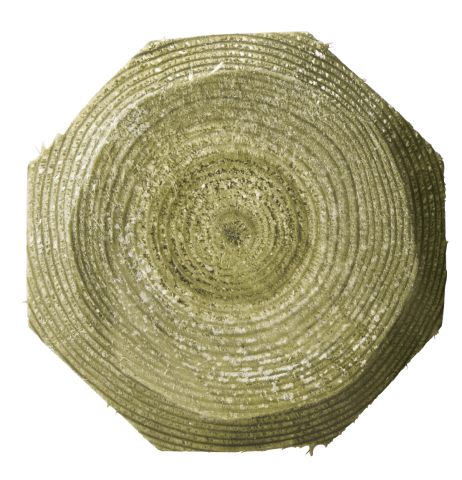 Dřevěný kůl Octo Wood
