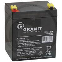 Bezúdržbová MF uzavřená baterie 12V 4,5Ah + - do zahradních sekaček 90 x 69 x 100 mm