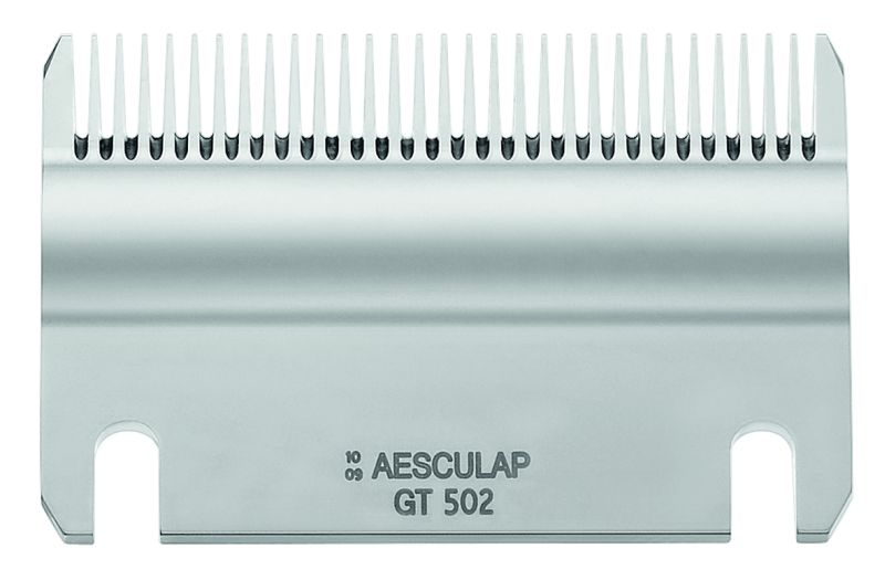 Spodní nůž GT 502 rovný 31 zubů ke strojku na stříhání skotu a koní Aesculap Econom II