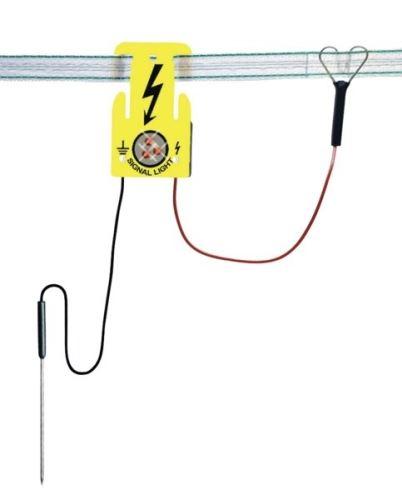 Signální světlo na elektrický ohradník, světelný alarm