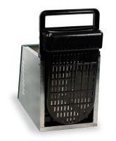 Baterie kukaní pro slepice 6-místná GAUN s plastovým víkem 3 kukaně ve 2 patrech
