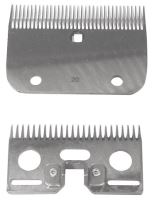 Sada nožů R22 24/35 zubů jemná k stříhacímu strojku pro koně a skot Constanta 1 a 2