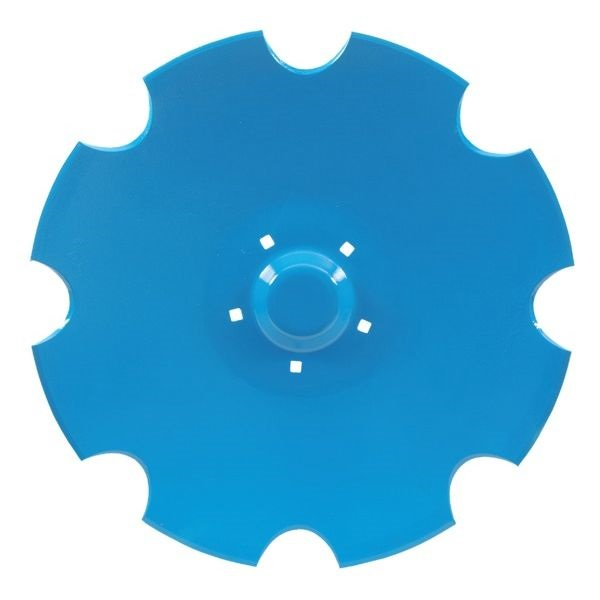 Ozubený disk vhodný pro Lemken Rubín - průměr D=620 mm, tloušťka S=6 mm