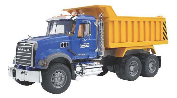 Bruder - nákladní auto Mack Granite se sklápěčkou
