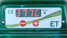 Poloautomatická digitální líheň na kuřata, drůbež EGG TECH ET 49 s dolíhní bez motoru