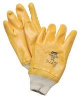 Nitrilové rukavice Superlite Plus s bavlněnou nosnou tkaninou žluté