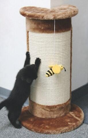 Fotografie Škrabadlo CORNER rohové pro kočky