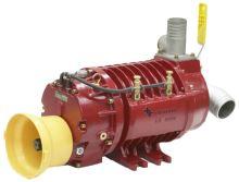 Vývěva na fekál HERTELL KD-8.000, vakuové čerpadlo, kompresor kapacita 8000 l/min