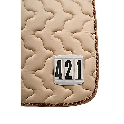 Startovací číslo pro koně 3-místné čtvercové