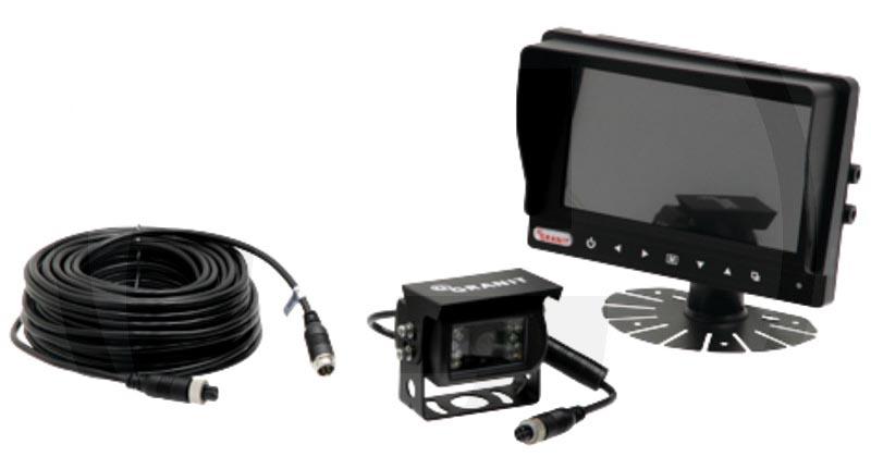 """Barevná couvací a parkovací auto kamera a kamerový systém pro couvání s LCD monitorem 7"""""""