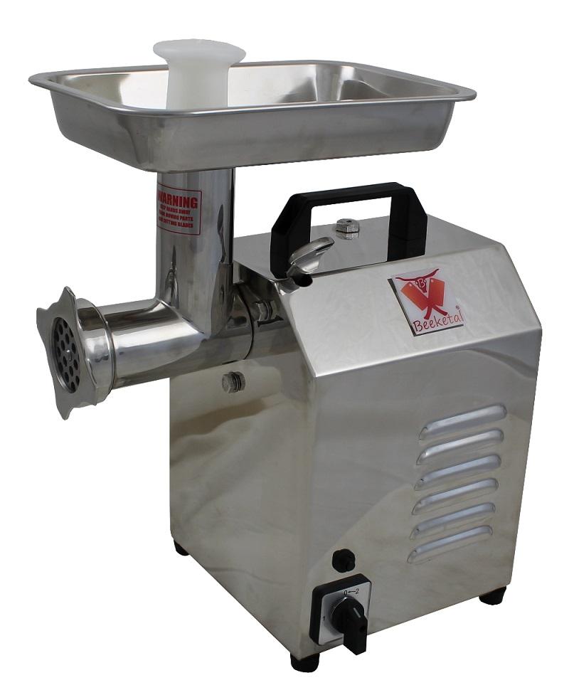 Elektrický řeznický mlýnek na maso BEEKETAL FW300 80 kg/hodina