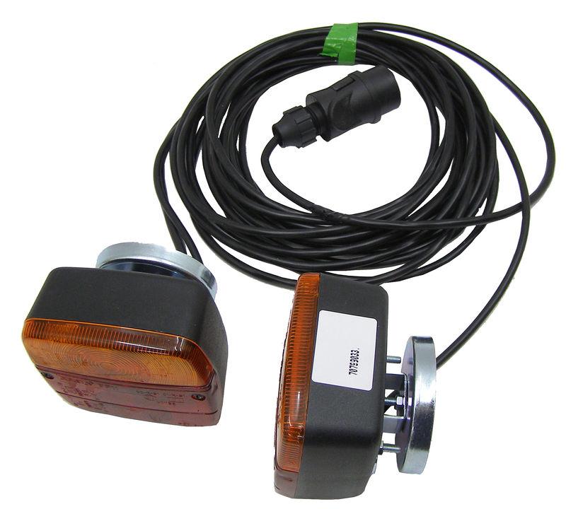 Magnetická koncová světla pro přívěsy, přívěsné vozíky